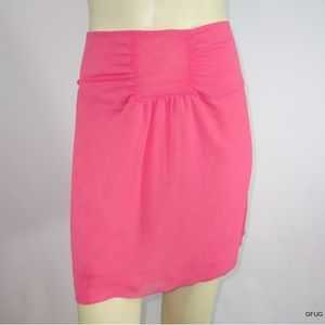 Lux Urban Outfitters Skirt Gathered Waist Mini